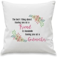 Personalised The Best Thing Cushion Cover