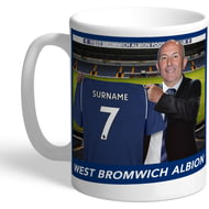 Personalised West Bromwich Albion FC Manager Mug