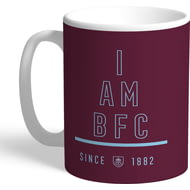 Personalised Burnley FC I Am Mug