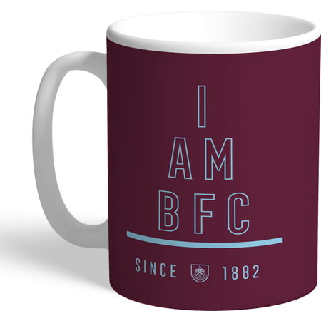Personalised Burnley I Am Mug