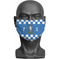 Personalised Sheffield Wednesday FC Initials Adult Face Mask