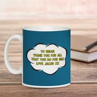 Personalised Super Step-dad Ceramic Mug