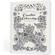 Personalised Creative Colouring Book For Adults