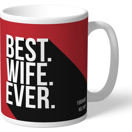 Personalised Middlesbrough Best Wife Ever Mug