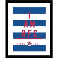 Personalised Reading FC I Am Framed Print