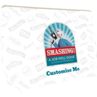 "Personalised Wallace And Gromit ""Smashing!"" Large Wash Bag"