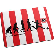 Personalised Sheffield United FC Evolution Mouse Mat