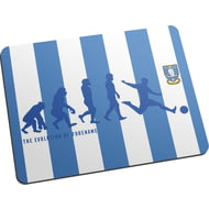 Personalised Sheffield Wednesday Evolution Mouse Mat