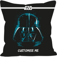 Personalised Star Wars Paint Cushion - 45x45cm