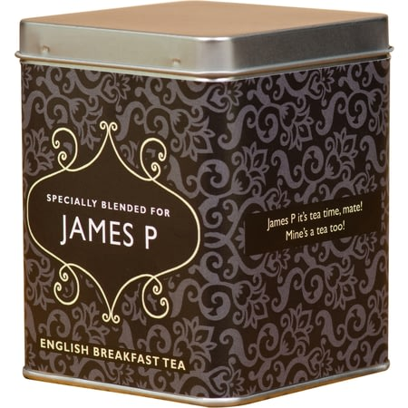 Personalised Tea Bags In Tin Traditional Design