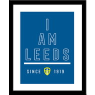 Personalised Leeds United FC I Am Print