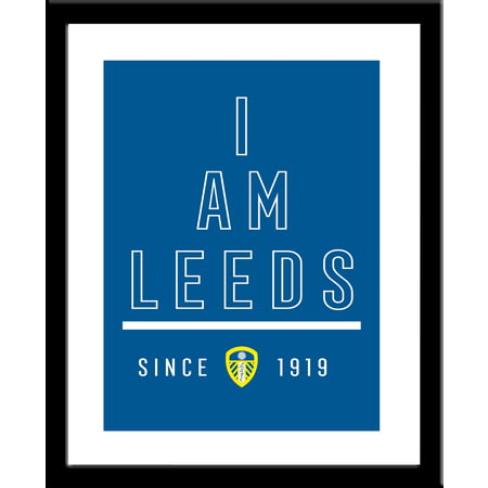 Personalised Leeds United FC I Am Framed Print