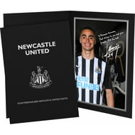 Personalised Newcastle United FC Almiron Autograph Photo Folder