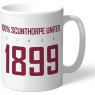 Personalised Scunthorpe United FC 100 Percent Mug