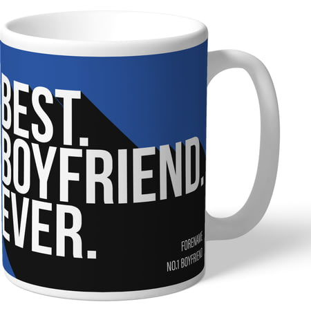 Personalised Sheffield Wednesday Best Boyfriend Ever Mug