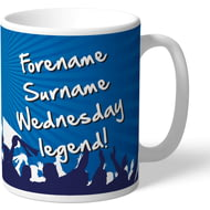 Personalised Sheffield Wednesday FC Legend Mug