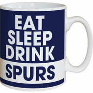 Personalised Tottenham Hotspur FC Eat Sleep Drink Mug