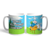 Personalised Adventure Time Homies Mug
