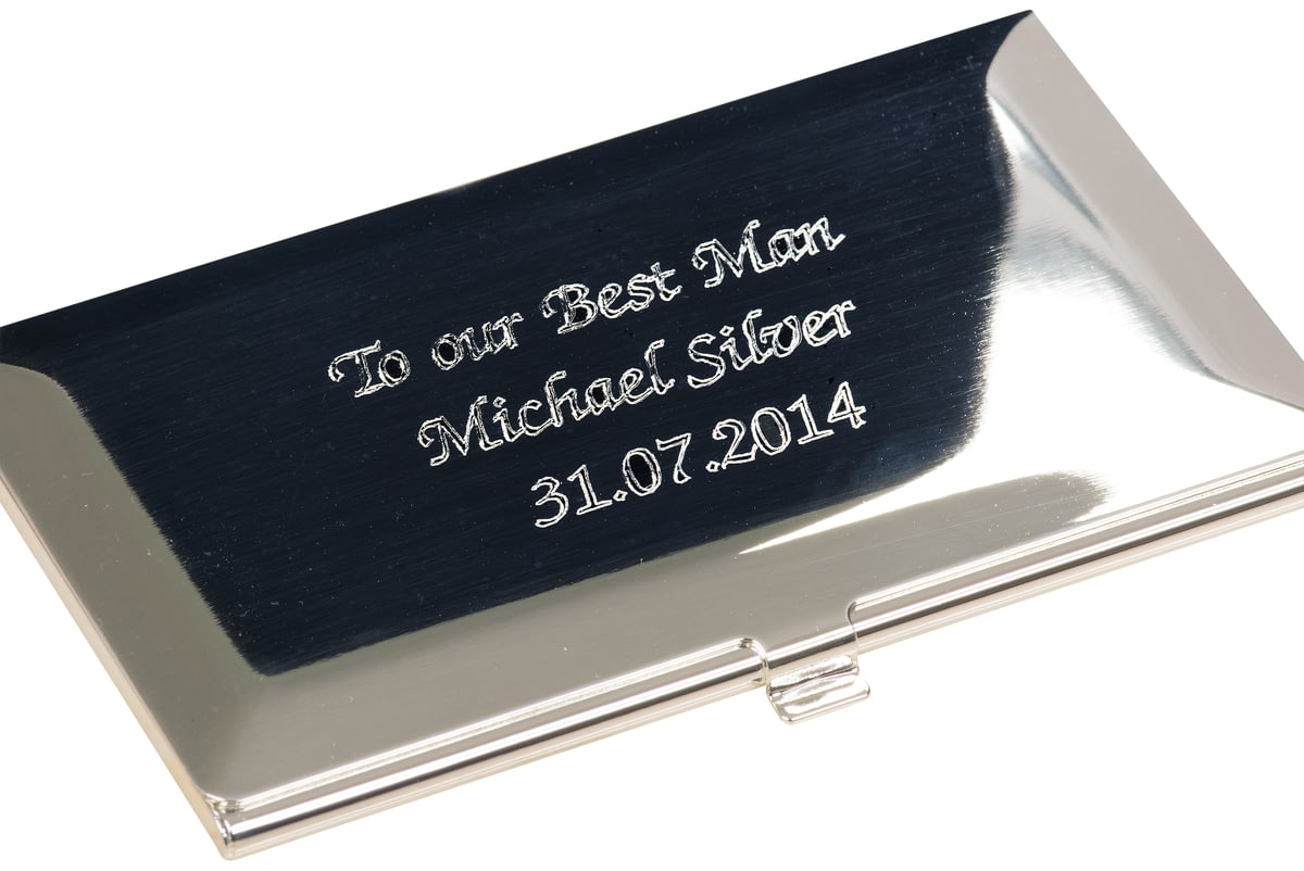 Buy Your Personalised Business Card Holder From Go Find A Gift