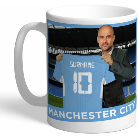 Personalised Manchester City FC Manager Mug