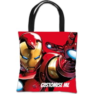 Personalised Marvel Avengers Assemble Iron Man Tote Bag