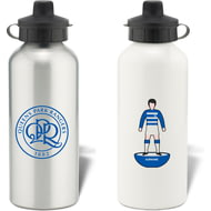 Personalised Queens Park Rangers FC Player Figure Aluminium Sports Water Bottle