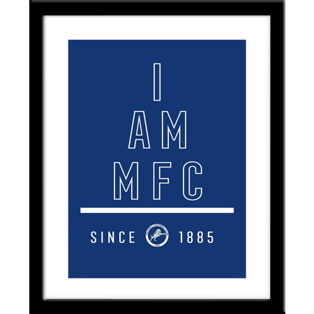Personalised Millwall FC I Am Framed Print