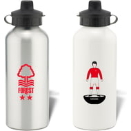 Personalised Nottingham Forest FC Player Figure Water Bottle