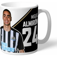 Personalised Newcastle United FC Almiron Autograph Mug