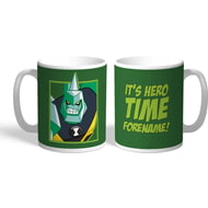 Personalised Ben 10 Diamondhead Hero Time Mug