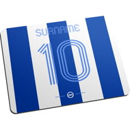 Personalised Brighton & Hove Albion FC Retro Shirt Mouse Mat