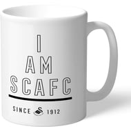 Personalised Swansea City I Am Mug