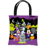 Personalised Disney Mickey Mouse & Friends Halloween 'Boy What Fun!' Tote Bag