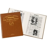 Personalised Oakland Raiders American NFL Football Newspaper Book