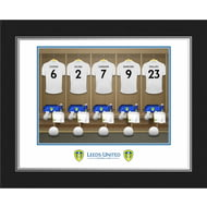 Personalised Leeds United FC Dressing Room Shirts Photo Folder