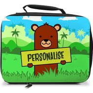 Personalised Kids Bear Insulated Lunch Bag