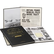 Personalised WW2 75th Anniversary Pictorial Edition Historic Newspaper Book