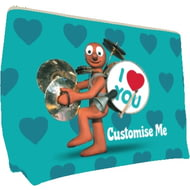 Personalised Morph 'I Love You' Large Wash Bag