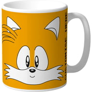 Personalised Classic Sonic Tails Face Mug