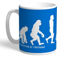 Personalised Huddersfield Town AFC Evolution Mug