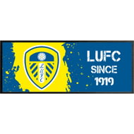 Personalised Leeds United FC Paint Splash Regular Bar Runner