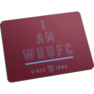 Personalised West Ham United FC I Am Mouse Mat