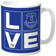 Personalised Everton FC Love Mug