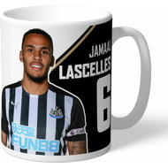 Personalised Newcastle United FC Lascelles Autograph Mug