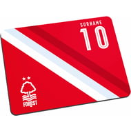 Personalised Nottingham Forest FC Stripe Mouse Mat