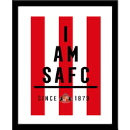 Personalised Sunderland AFC I Am Print