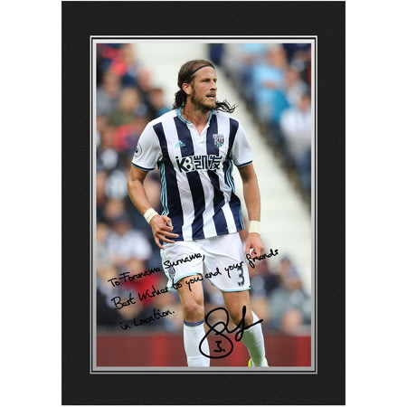 Personalised West Bromwich Albion FC Olsson Autograph Photo Folder
