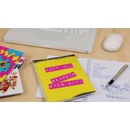 Personalised Secrets, Keep Out! Notebook
