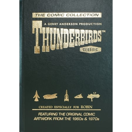 Personalised Thunderbirds Comic Collection Deluxe Edition