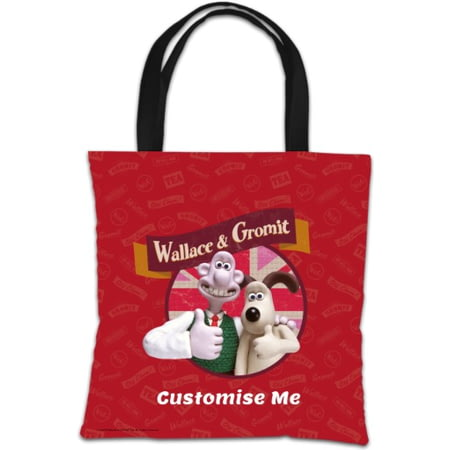 Personalised Wallace And Gromit Thumbs Up Tote Bag